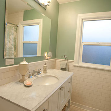Projects: Bathroom Remodels
